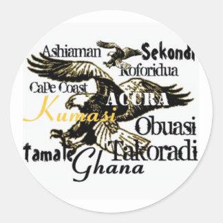Africankoko custom Ghana stickers