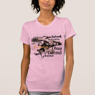 Africankoko custom Ghana T-shrit T-Shirt