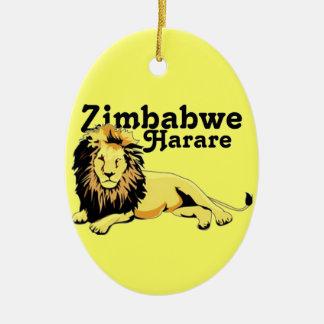 Africankoko Custom Harare. Zimbabwe Ceramic Ornament