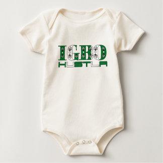 Africankoko Custom Igbo Hustla(Nigeria) Baby Bodysuit