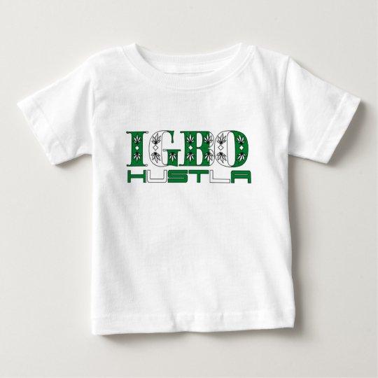 Africankoko Custom Igbo Hustla(Nigeria) Baby T-Shirt