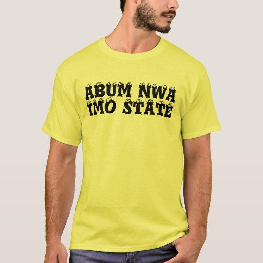 Africankoko Custom IMO STATE, Nigeria T-Shirt