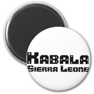Africankoko Custom Kabala, Sierra Leone Magnet