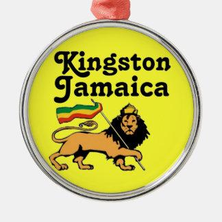 Africankoko Custom Kingston, Jamaica Metal Ornament