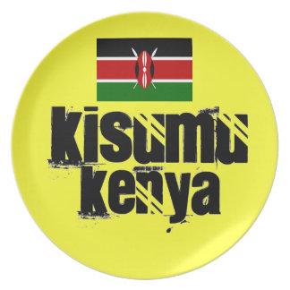 Africankoko Custom Kisumu, Kenya Melamine Plate
