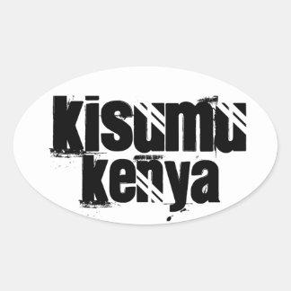 Africankoko Custom Kisumu, Kenya Oval Sticker