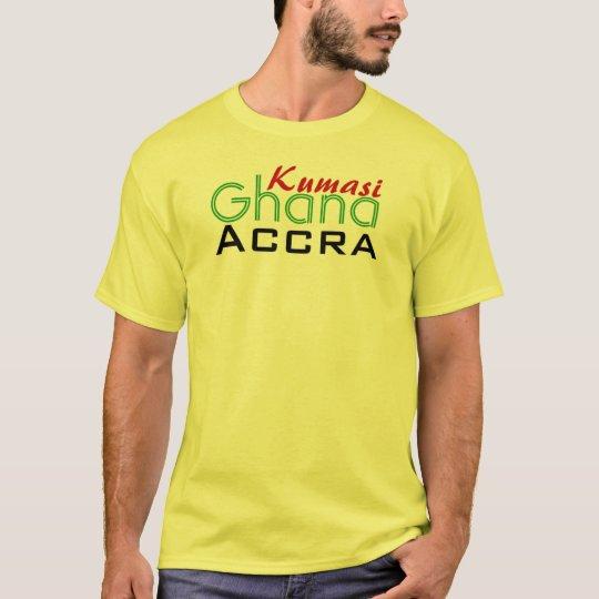 Africankoko  Custom Kumasi, accra, Ghana T-Shirt