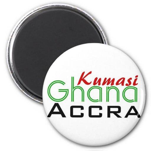 Africankoko custom kumasi Ghana Accra magent 2 Inch Round Magnet