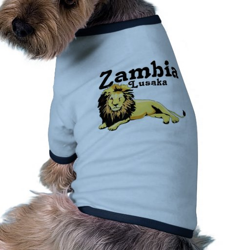 Africankoko Custom Lusaka, Zambia Dog Tee