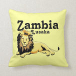 Africankoko Custom Lusaka, Zambia Pillow