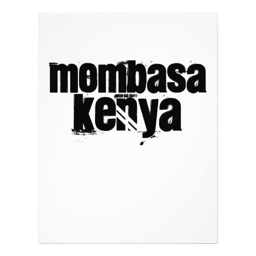 Africankoko Custom Mombasa, Kenya Letterhead