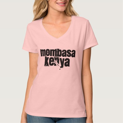 Africankoko Custom Mombasa, Kenya T-Shirt