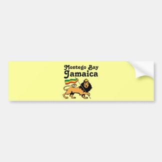 Africankoko Custom Montego Bay, Jamaica Bumper Sticker