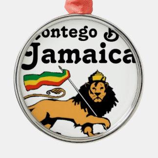 Africankoko Custom Montego Bay, Jamaica Metal Ornament