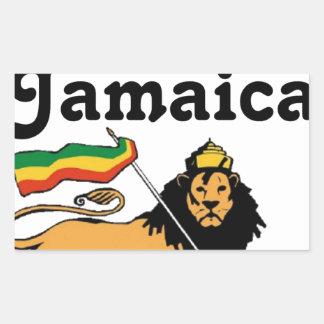 Africankoko Custom Montego Bay, Jamaica Rectangular Sticker