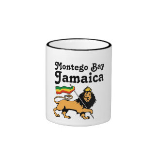 Africankoko Custom Montego Bay, Jamaica Ringer Mug