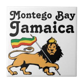 Africankoko Custom Montego Bay, Jamaica Tile