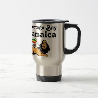 Africankoko Custom Montego Bay, Jamaica Travel Mug