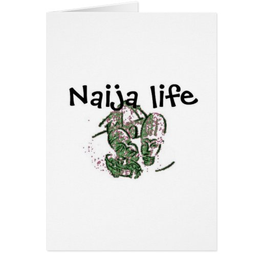 Africankoko Custom  Nigeria Life Card