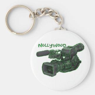 Africankoko Custom Nollywood Basic Round Button Keychain