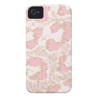 Africankoko Custom Pink  Leopard Skin iPhone 4 Covers