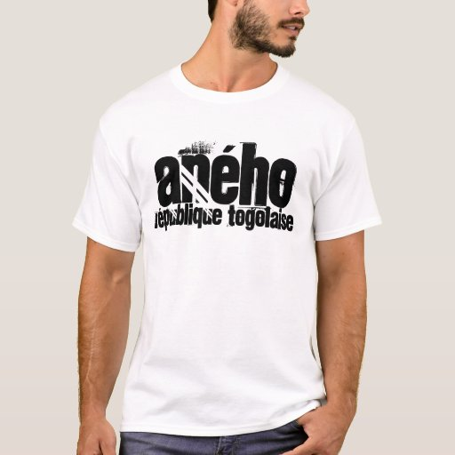 Africankoko Custom, Togolese Republic,Aného T-Shirt