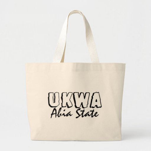 Africankoko Custom Ukwa, AbiaState, Nigeria Canvas Bags