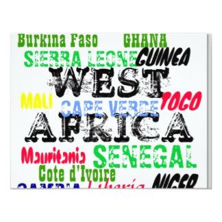 Africankoko Custom W.Africa  Apparell Card