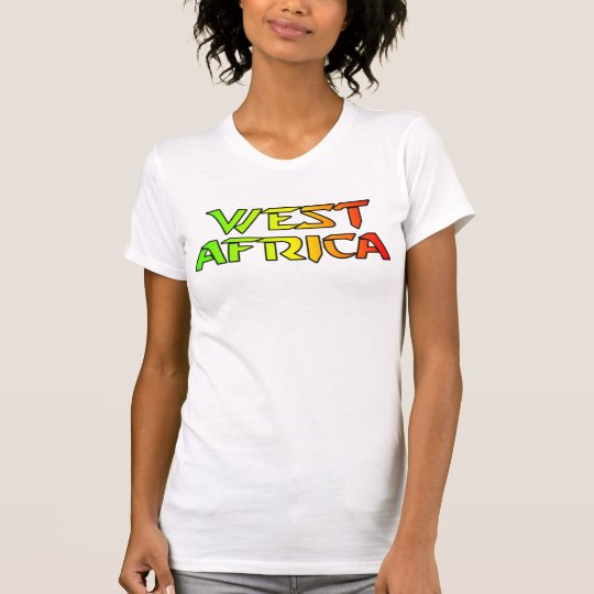 Africankoko Custom West Africa T-Shirt