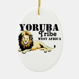Africankoko Custom Yoruba Tribe(Nigeria) Ceramic Ornament