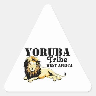 Africankoko Custom Yoruba Tribe(Nigeria) Triangle Sticker