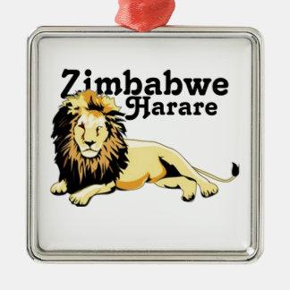 Africankoko Custom Zimbabwe Metal Ornament