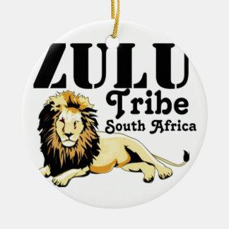 Africankoko Custom Zulu Tribe(South Africa) Ceramic Ornament