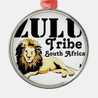 Africankoko Custom Zulu Tribe(South Africa) Metal Ornament