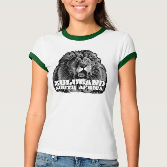 Africankoko custom Zululand, South Africa T-Shirt