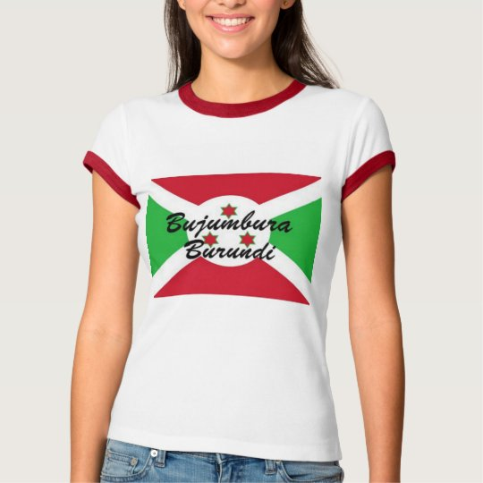 Africankoko customBujumbura Burundi Ladies t-shrit T-Shirt