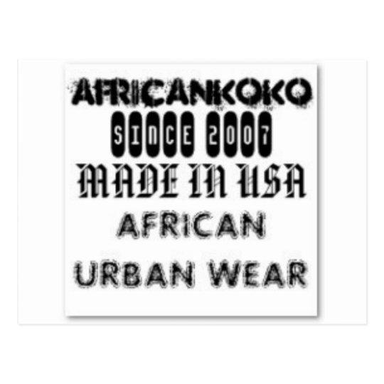 Africankoko Customized Brand Postcard