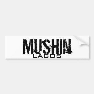 Africankoko (estado de Mushin, de Lagos, Nigeria) Pegatina De Parachoque