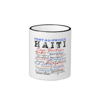 "Africankoko, ""Haití"" colección de 2010 personaliza Tazas"