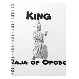 Africankoko Jaja de Opobo, Nigeria Libros De Apuntes Con Espiral