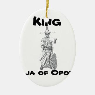 Africankoko Jaja of Opobo, Nigeria Ceramic Ornament