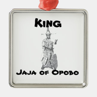 Africankoko Jaja of Opobo, Nigeria Metal Ornament