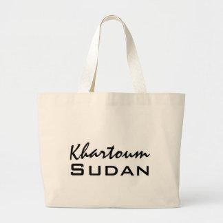 Africankoko Jartum de encargo, Sudán Bolsas Lienzo