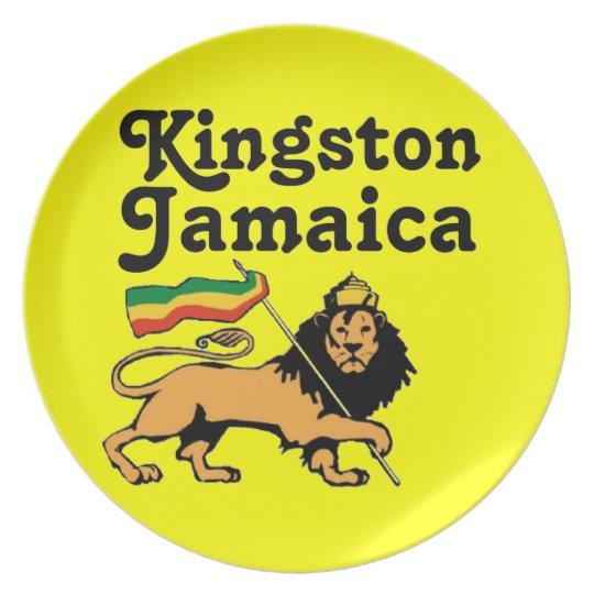 Africankoko Kingston de encargo, Jamaica Platos