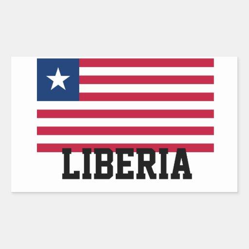 Africankoko ,liberia rectangular sticker