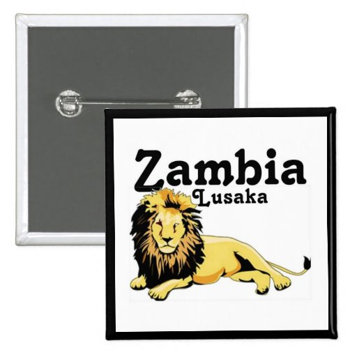 Africankoko Lusaka de encargo, Zambia Pins