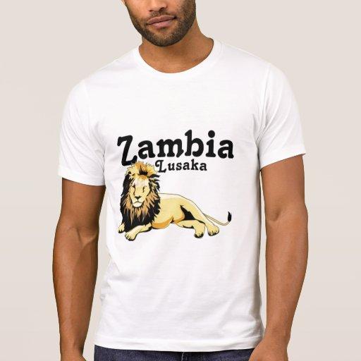 Africankoko Lusaka de encargo, Zambia Tee Shirt