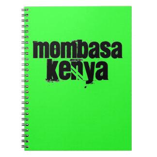 Africankoko Mombasa de encargo Kenia Cuaderno