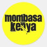 Africankoko Mombasa de encargo, Kenia Pegatina