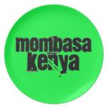 Africankoko Mombasa de encargo, Kenia Platos Para Fiestas